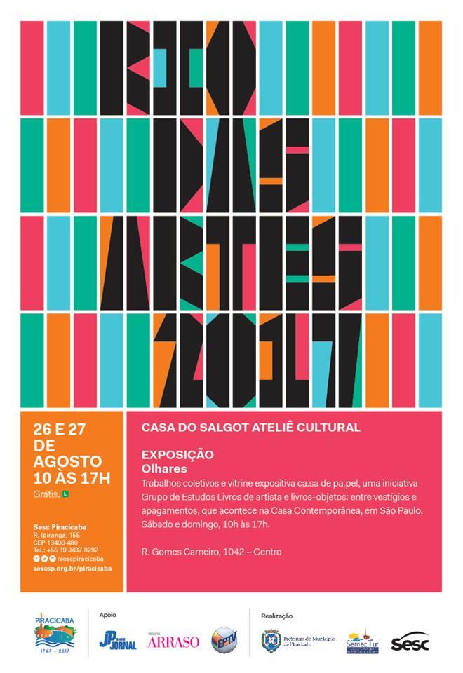 RIO DAS ARTES 2017 - LIVRO DE ARTISTA